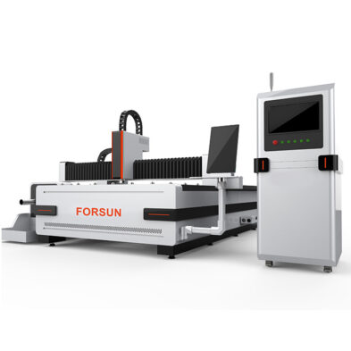 CNC Fiber Laser Cutting Machine with rotary axis