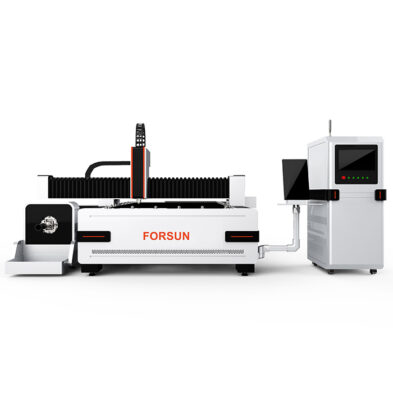 CNC Metal Fiber Laser Cutting Machine with rotary axis