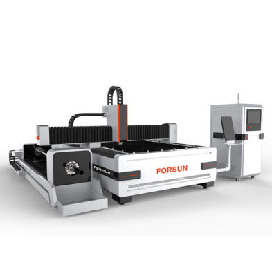 Fiber Laser Cutting Machine with rotary axis
