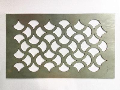 Fiber laser cutting metal