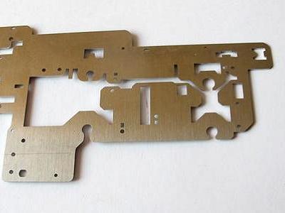 fiber laser cutting sample