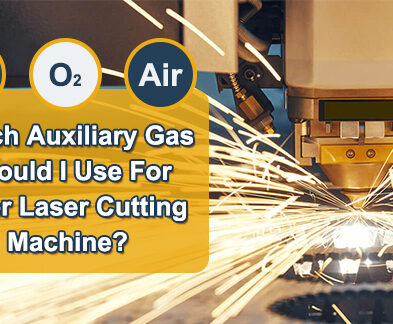 Which auxiliary gas should I use for fiber laser cutting machine?