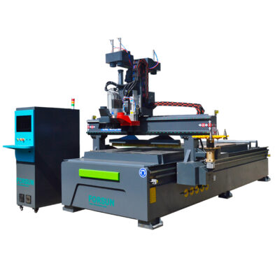 5+4 Boring Spindle ATC Wood Furniture Nesting CNC Router